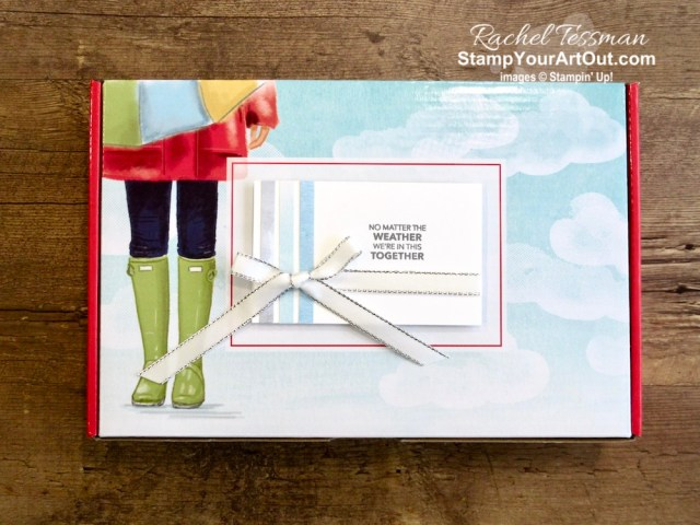"I'm excited to share with you what I created with the March 2020 No Matter The Weather Paper Pumpkin Kit. I tripled the cards in the kit, converted the special edition box into a gift-your-neighbor box, and made a couple ""matchbook"" day brighteners. Click here for photos of all these projects, a video with directions, measurements and tips for making them, and a complete product list linked to my online store! - Stampin' Up!® - Stamp Your Art Out! www.stampyourartout.com"