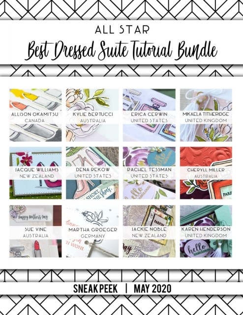 Here are the Best Dressed All Star Tutorial Bundle Peeks. Place an order in the month of May 2020 and get this bundle of 12 fabulous paper crafting project tutorials for free! Or purchase it for just $15. - Stampin' Up!® - Stamp Your Art Out! www.stampyourartout.com