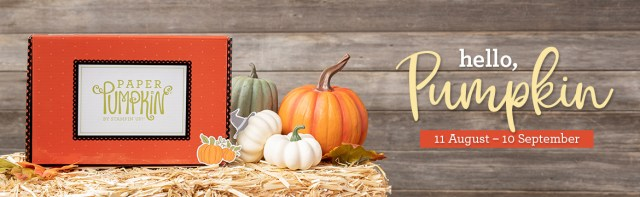 The September 2020 Hello Pumpkin Paper Pumpkin Kit. - Stampin' Up!® - Stamp Your Art Out! www.stampyourartout.com