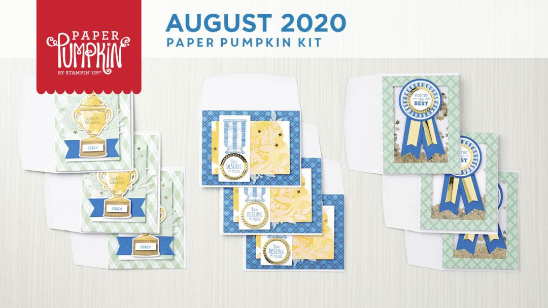 The August 2020 World's Greatest Paper Pumpkin Kit. - Stampin' Up!® - Stamp Your Art Out! www.stampyourartout.com