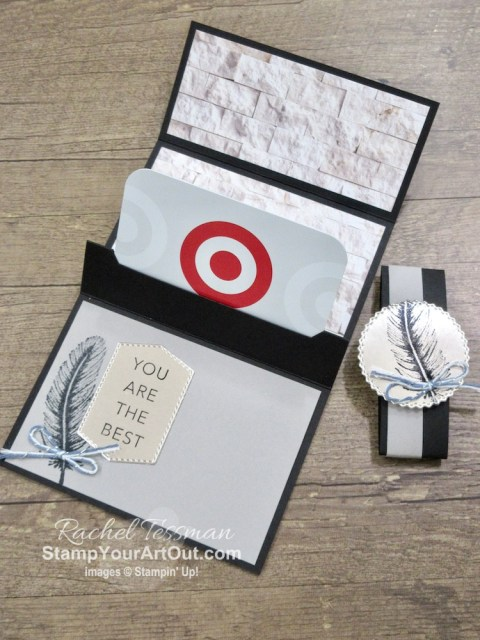 All Star Tutorial Blog Hop August 2020 featuring the In Good Taste Suite of products from Stampin' Up!'s 20-21 Annual Catalog… Get directions, measurements, and a list of supplies used for the paper wallet gift card holders I created and shared. Learn how to grab up the awesome exclusive tutorial bundle. AND see other great ideas with this suite shared by the 11 others in our tutorial group! - Stampin' Up!® - Stamp Your Art Out! www.stampyourartout.com