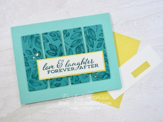 See how to use the same pre-cut pieces being offered in the September 2020 Get & Go Starter Kit to make a variety of greeting cards. Many feature the Forever Fern Stamp Set. My fun z-fold card features the Beauty Abounds Stamp Set and Butterfly Beauty Dies. It's a great kit offer this month! Don't miss out. Click here to access measurements, directions, a link to the how-to video from a previous post, other close-up photos, and links to the products I used. - Stampin' Up!® - Stamp Your Art Out! www.stampyourartout.com