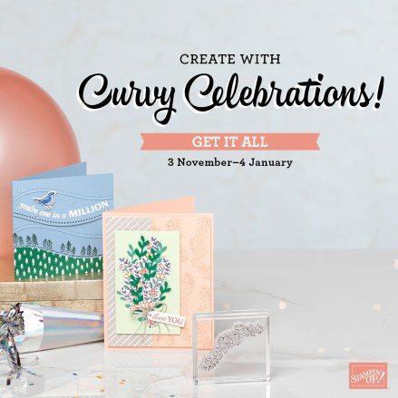 Curvy Celebrations! - Stampin' Up!® - Stamp Your Art Out! www.stampyourartout.com