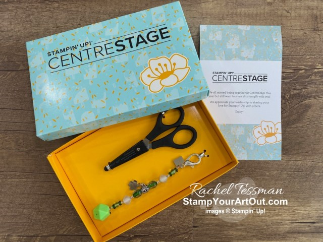 Click here to see photos from Stampin' Up!'s virtual OnStage@Home November 2020 including peeks of new products from the upcoming January-June 2021 Mini Catalog and Sale-a-Bration Brochure, the gifts I gave to (and some gifts I received from) team members who attended with me, and more. - Stampin' Up!® - Stamp Your Art Out! www.stampyourartout.com