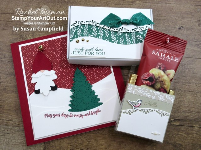 Click here to see the gifts I gave to and some gifts I received from team members who attended Stampin' Up!'s virtual OnStage@Home November 2020 with me. You will also be able to see peeks of new products and other photos from this fun event. - Stampin' Up!® - Stamp Your Art Out! www.stampyourartout.com