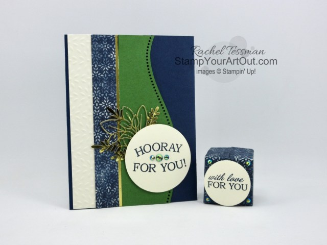 Here are a few projects I created with the Boho Indigo refill kit, Curvy Dies, Quite Curvy Stamp Set, Best Year Stamp Set, and coordinating products. These were the make-n-takes my Stampers With ART group made during our virtual Team Gathering. Access directions, measurements, a how-to video, and a list of supplies I used linked to my online store. - Stampin' Up!® - Stamp Your Art Out! www.stampyourartout.com