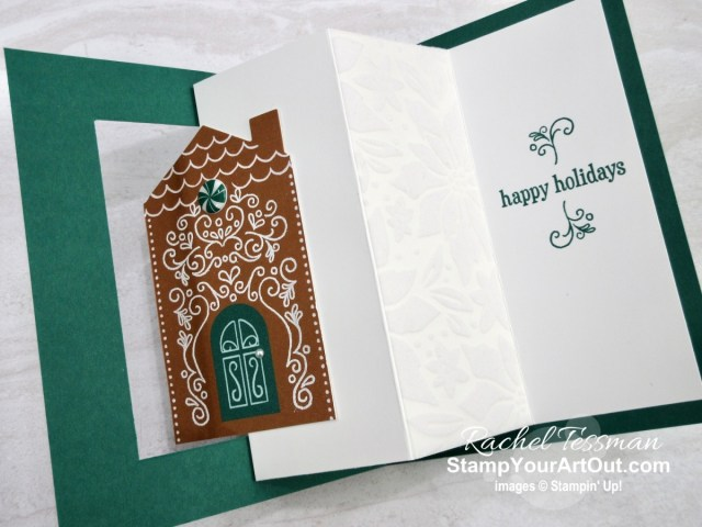 "Click here to see & get details for how to make a swing fold card AND a gingerbread pop-up card (thanks to Vy Tran) from your November 2020 ""Jolly Gingerbread"" Paper Pumpkin kit and some extra product. Plus you can see several other alternate project ideas created with this kit by fellow Stampin' Up! demonstrators in our blog hop: ""A Paper Pumpkin Thing""! - Stampin' Up!® - Stamp Your Art Out! www.stampyourartout.com"