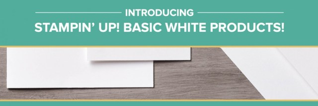 Basic White Cardstock! - Stampin' Up!® - Stamp Your Art Out! www.stampyourartout.com
