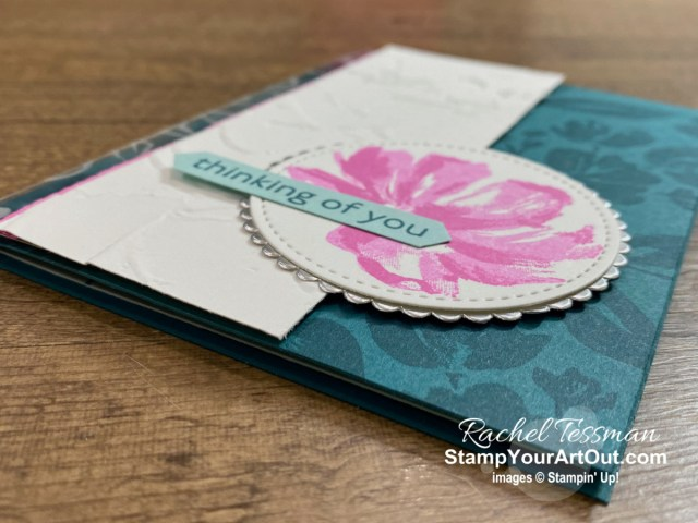 All Star Tutorial Blog Hop January 2021 featuring the Fine Art Floral Suite of products from Stampin' Up!'s Jan-June 2021 Mini Catalog… Get directions, measurements, and a list of supplies used for this simple yet elegant card I created and shared. Learn how to grab up the awesome exclusive tutorial bundle. AND see other great ideas with this suite shared by the eleven others in our tutorial group! - Stampin' Up!® - Stamp Your Art Out! www.stampyourartout.com