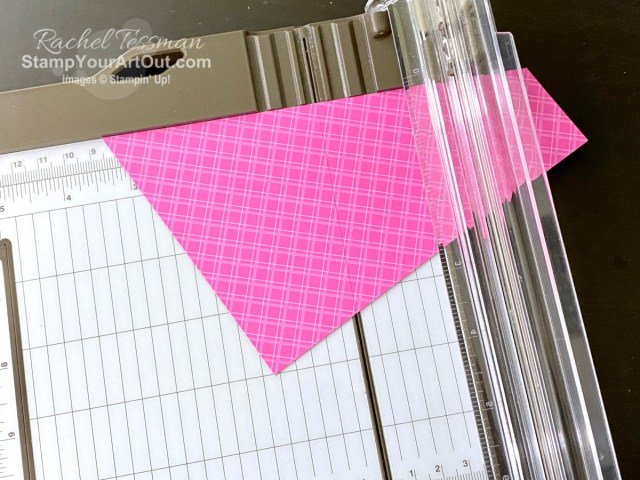 Cutting a 6x6 piece of designer paper in a certain way makes it SOOOoo easy to give your cards that fun angled corner layer without waste. Click here to see my angled corner layer card that I created with the Forever & Always Stamp Set, the Always Dies, and the In Color 2020–2022 6x6 Designer Series Paper available in the January 2021 Sale-a-Bration Starter Kit. Access directions, more photos, measurements, and links to all the products so you can make them, too. - Stampin' Up!® - Stamp Your Art Out! www.stampyourartout.com