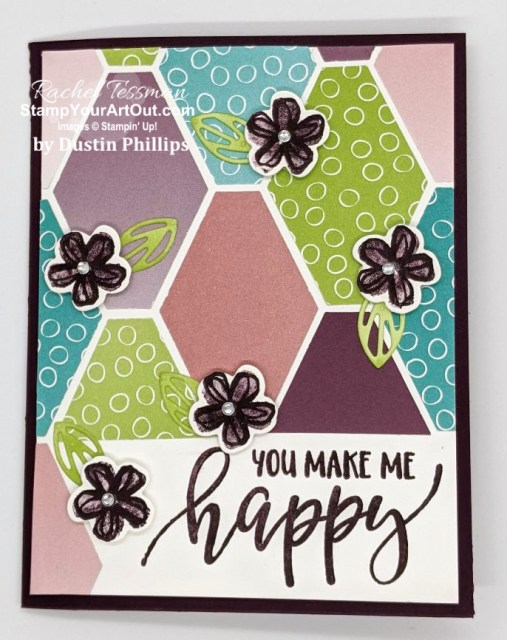 Our Stampers With ART Showcase Stamper for the month of February 2021, Dustin Phillips created some great cards & projects with products from the Pretty Perennials Bundle: Pretty Perennials Stamp Set and coordinating Perennial Petals Dies. Click here to see three of these creations paired with the Oh So Ombré paper. - Stampin' Up!® - Stamp Your Art Out! www.stampyourartout.com