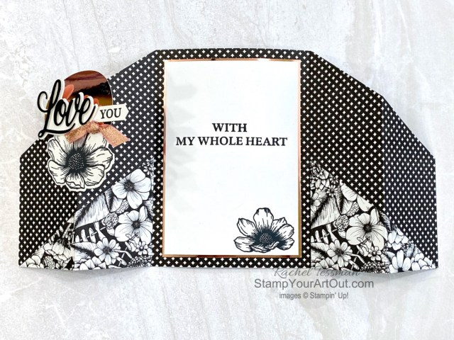 All Star Tutorial Blog Hop February 2021 featuring the Love You Always Suite of products from Stampin' Up!'s Jan-June 2021 Mini Catalog. Click here to access measurements, a how-to video with tips and tricks, other close-up photos, and links to all the products I used. Learn how to grab up the awesome exclusive tutorial bundle. AND see other great ideas with this suite shared by the eleven others in our tutorial group! - Stampin' Up!® - Stamp Your Art Out! www.stampyourartout.com