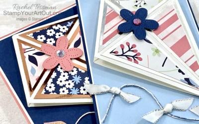 Paper Blooms Kite Fold Card