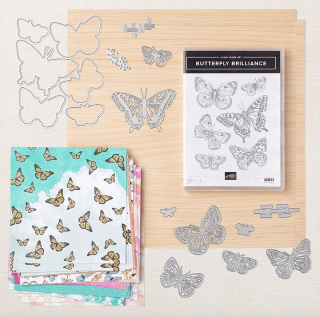 Butterfly Brilliance Collection available March 2 – May 3, 2021! - Stamp Your Art Out! www.stampyourartout.com
