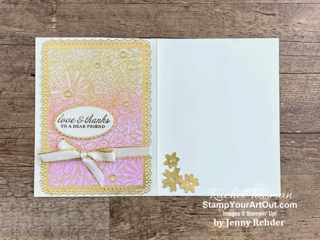 I have received more beautiful cards. And I'm very excited to share them with you! Click here to see all 27 cards/projects that feature current products from Jan-June 2021 Mini Catalog and the 2020-21 Annual Catalog.  - Stampin' Up!® - Stamp Your Art Out! www.stampyourartout.com