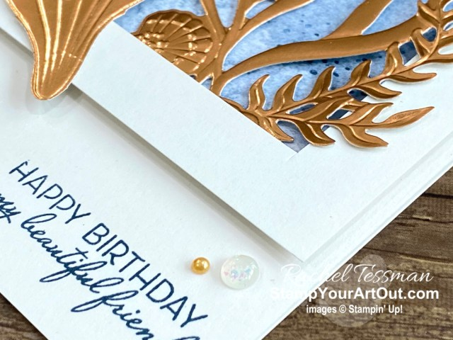 Here is a peek at the project I made for the Sand & Sea Suite All Star Tutorial Bundle. Place a qualifying order in the month of June 2021 and get the bundle of 12 fabulous paper crafting project tutorials for free! Or purchase it for just $15 US. - Stampin' Up!® - Stamp Your Art Out! www.stampyourartout.com