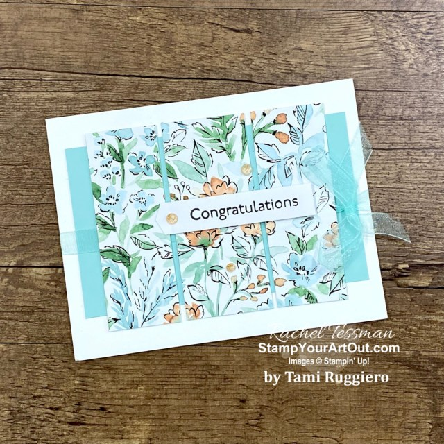 I've been given more congrats, thank you and 'just because' cards and goodies recently. And I have 21 of them that I want to share with you today that are all made with current products in the 2021-22 Annual Catalog. - Stampin' Up!® - Stamp Your Art Out! www.stampyourartout.com