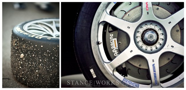 Dunlop BBS Rays wheels AP Racing Brakes