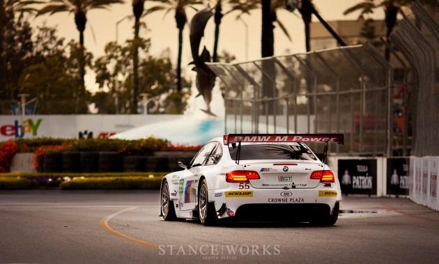 BMW ALMS M3 Long Beach Fountain