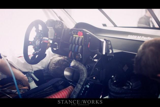BMW ALMS M3 interior