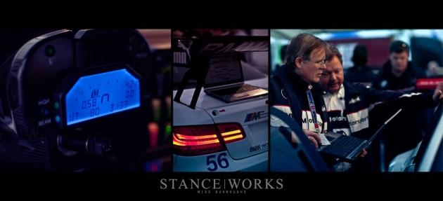 BMW Motorsport gauge