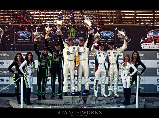 Long Beach Grand Prix podium