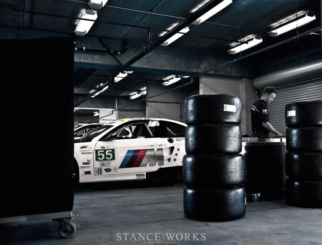 BMW ALMS dunlop