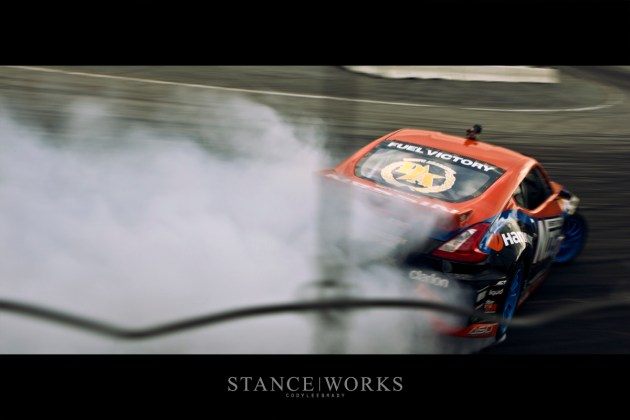Chris Forsberg NOS Energy Formula Drift Irwindale Speedway