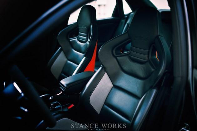 Audi Recaro Seats
