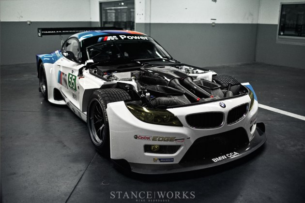 BMW Z4 GTE Engine V8
