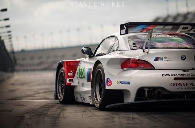 BMW Z4 GTE Alms Pit