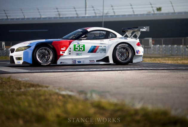 Side Profile BMW Z4 GTE