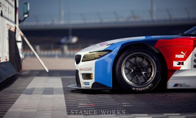 BMW z4 GTE Michelin Tires