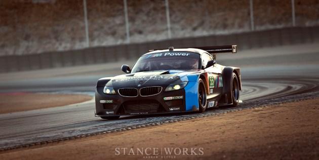 ALMS BMW Z4 GTE Team RLL No. 55
