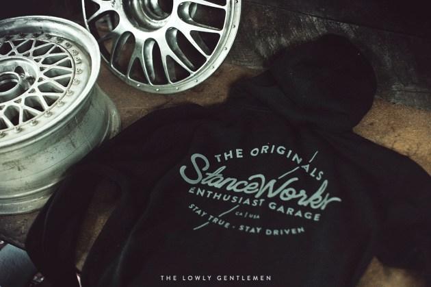 black stanceworks hooded sweatshirt