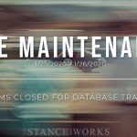 Forum Maintenance - Closed for the Weekend