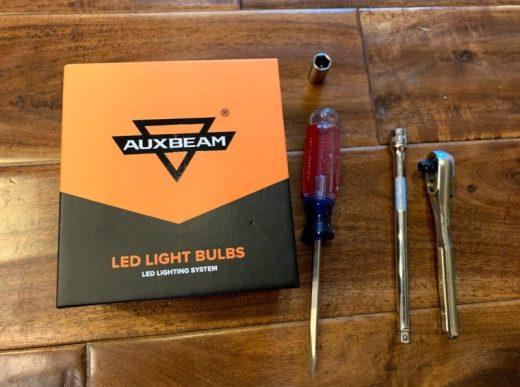 F250 Headlight Bulb Replacement Instructions Standard