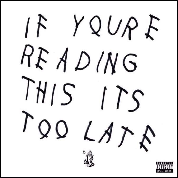 If You're Reading This It's Too Late Cover