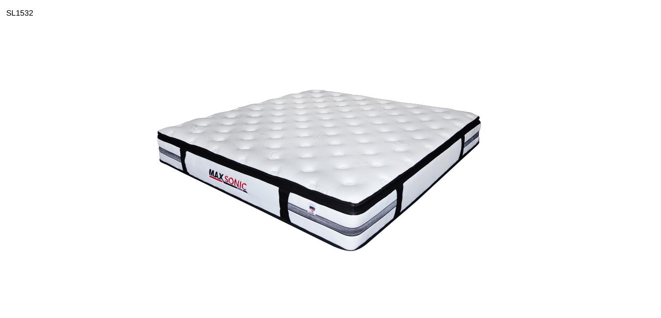 m010 queen size white mattress pillow top