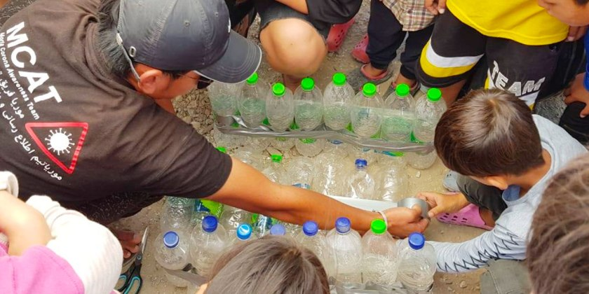 New Stage for Bottle Recycling Project