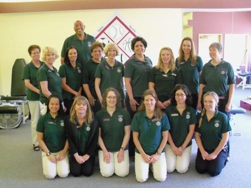 The_donaldson_clinic_team_-_20102