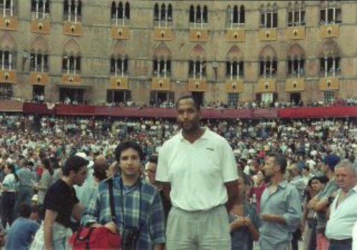 James_and_simone_at_il_palio_-_1980