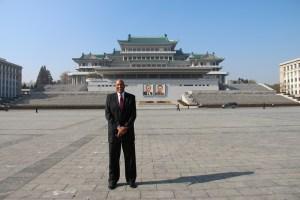 James at North Korean Square - 2012