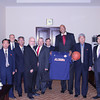 James Donaldson and North Korean Head Basketball Officials - 2012