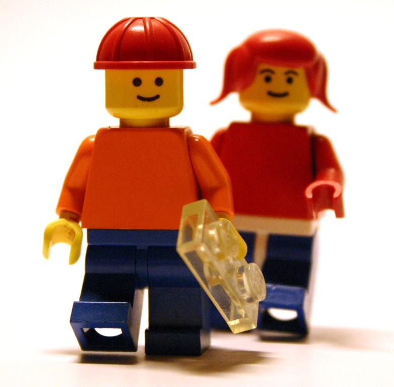 minifigs (in case you don't know)