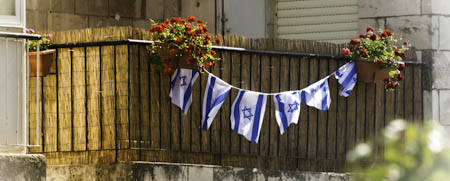 More Israeli Flags