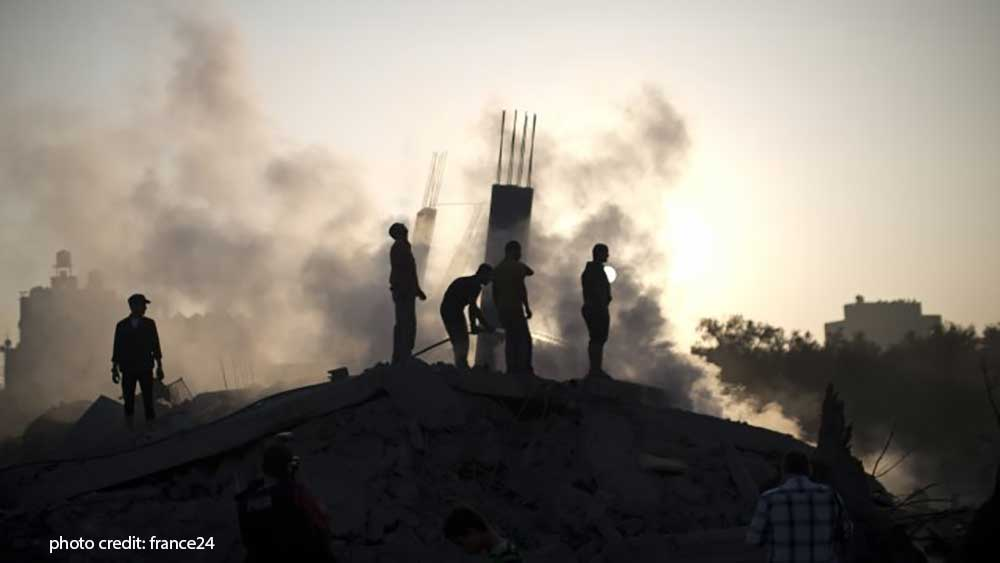 Hamas Launches Rockets from Gaza