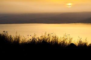 Sunrise over the Kinneret