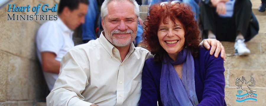 Richard and Carolyn Hyde, Heart of G-d Ministrie, Israel