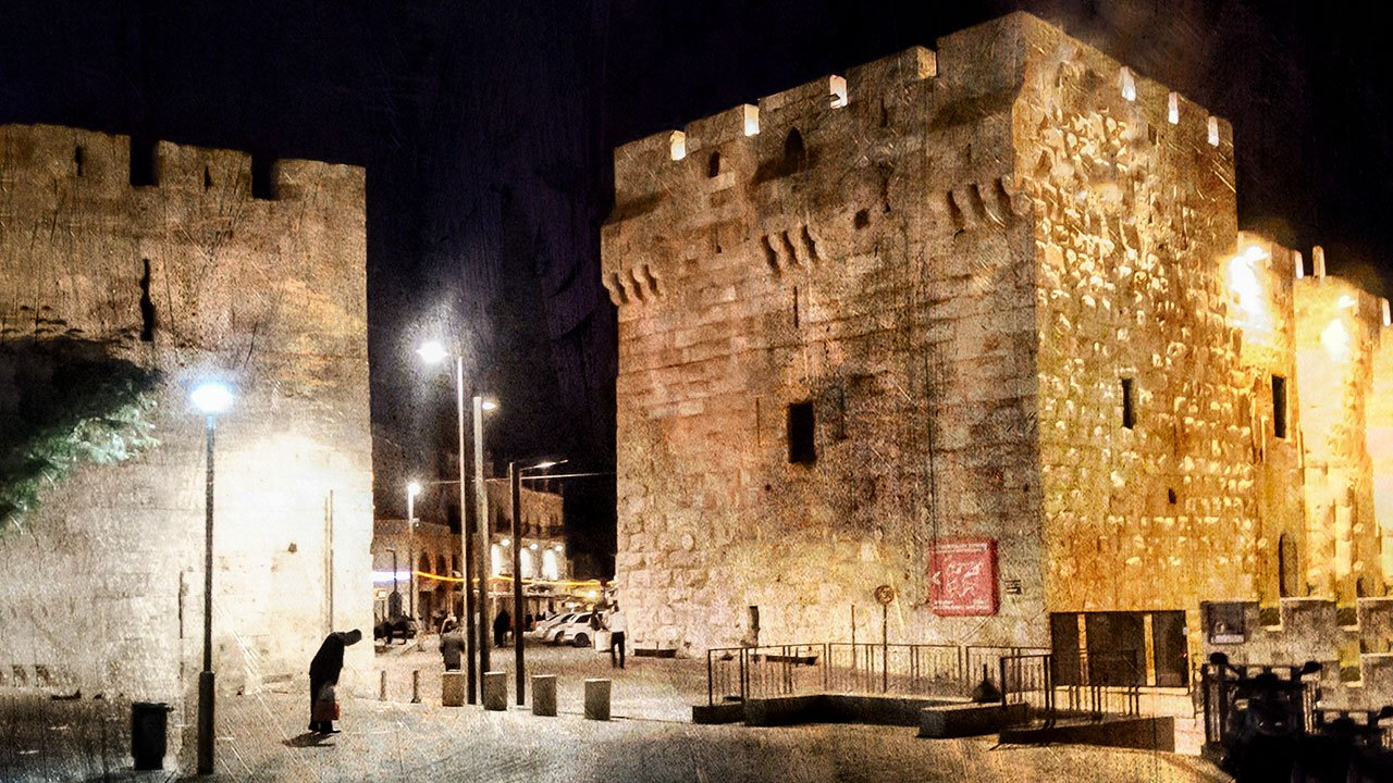 Jaffa Gate, 3:00 AM
